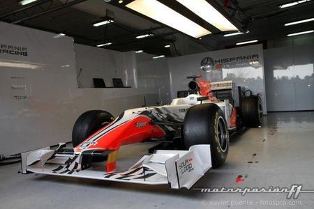 Hispania Racing F1 Team presenta el F111