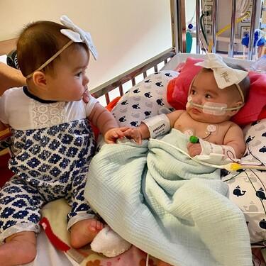 La preciosa reacción de unas gemelas al reunirse después de estar separadas más de 200 días por cuestiones médicas