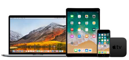 Cuarta beta pública de iOS 11, macOS High Sierra y tvOS 11 ya disponibles