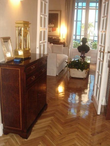 pasillo hacia salón 2