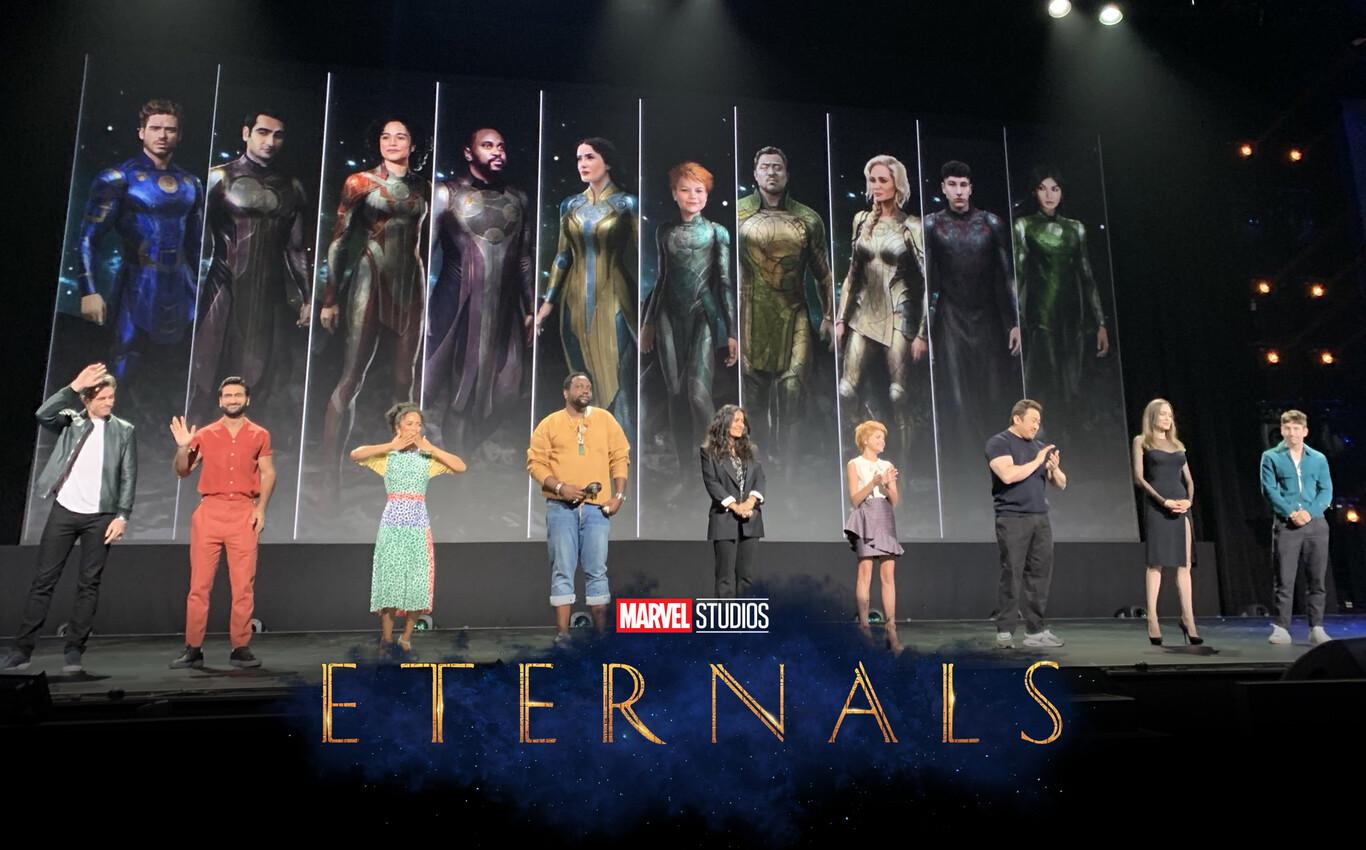 Qué son los Eternals