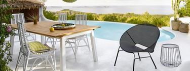 Muebles de exterior: las mejores rebajas para amueblar tu terraza o jardín