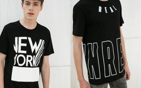 Camisetas Bershka Trendencias Hombre 2016 2