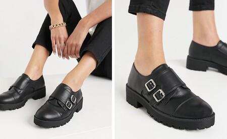 Zapatos Creepers Con Suela Trekking