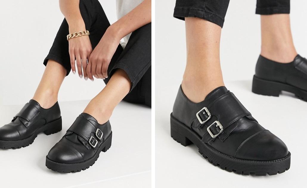Zapatos masculinos con hebillas