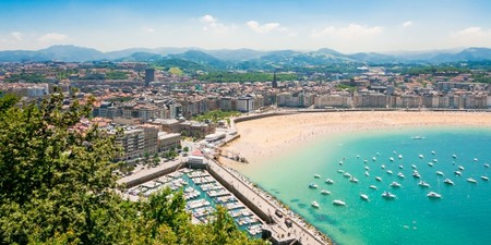 San Sebastian Beach Spain