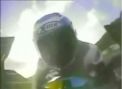 Vuelta a Jerez con la Rizla Suzuki GSV-R y Steve Parrish