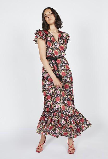 Vestido Estampado Flores