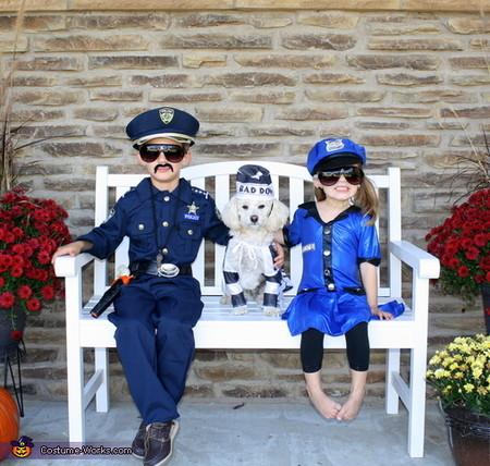 Disfraz Policias