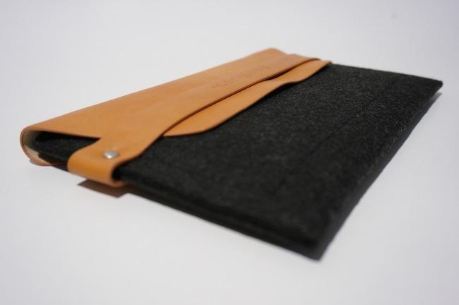 iPad mini sleeve funda con iPad cerrado