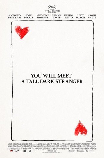 'You Will Meet A Tall Dark Stranger', cartel de lo nuevo de Woody Allen