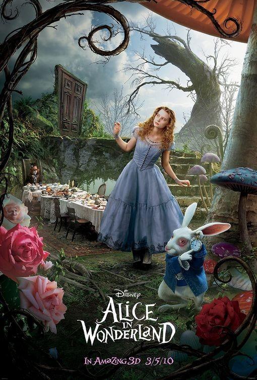 Foto de 'Alicia en el país de las maravillas', tres nuevos carteles (2/3)
