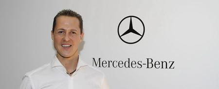 Michael Schumacher se aleja de la competición