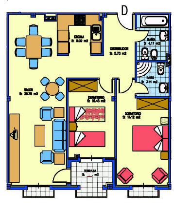Una casa desde cero la distribuci n de los muebles for Distribucion de muebles de cocina