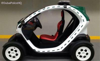 Un Renault Twizy para 'apatrullar' por Dubái