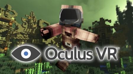 Minecraft llega de forma oficial a la realidad virtual de Oculus Rift