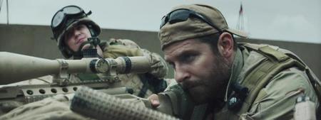 Bradley Cooper y Kyle Gallner en El Francotirador