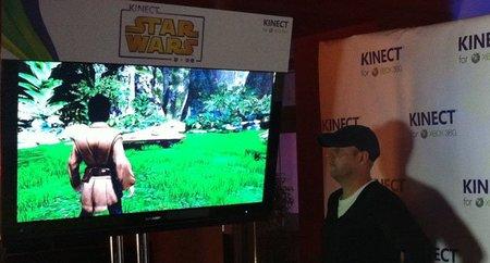 E3 2011: 'Kinect Star Wars', primer contacto