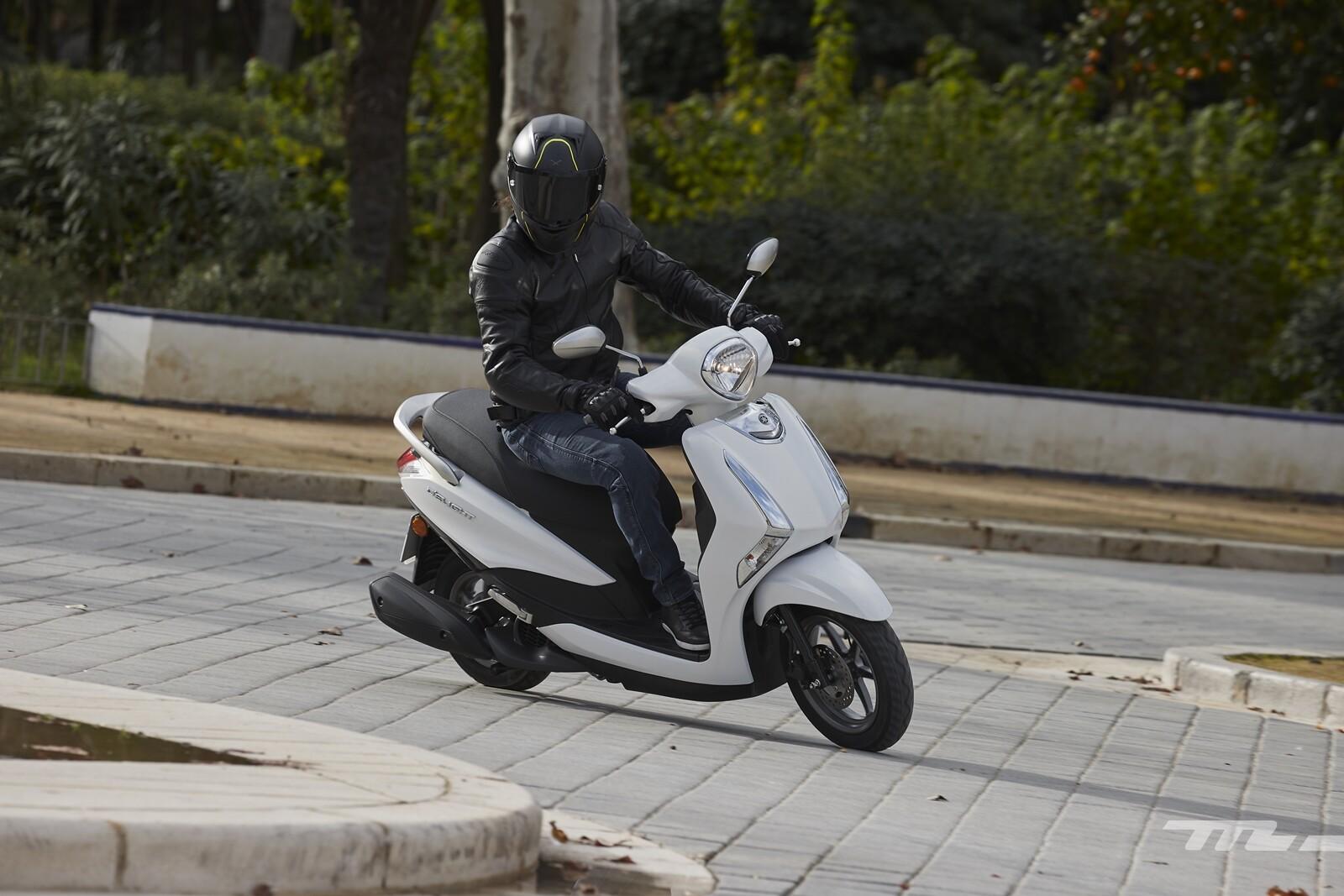 Foto de Yamaha D'elight 125 2021, prueba (26/34)