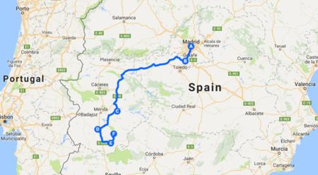 Mapa Moto Robada