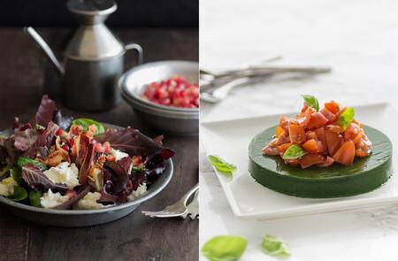 Siete ensaladas para Navidad: recetas originales y que lucirán en tus menús