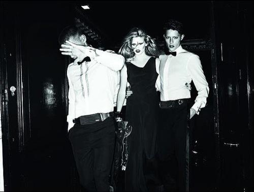 Foto de Dsquared2, campaña Otoño-Invierno 2009/2010 con Lara Stone (2/5)