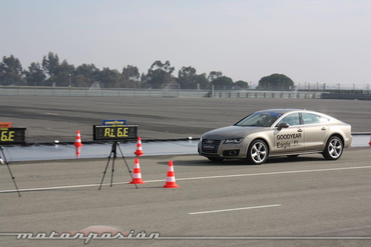 Foto de Goodyear Eagle F1: Audi TT RS, Audi A7 y Mercedes CLS (25/79)