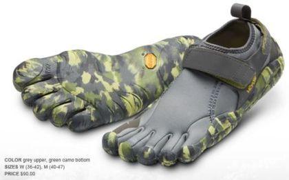 Nuevas zapatillas que simulan ir descalzo