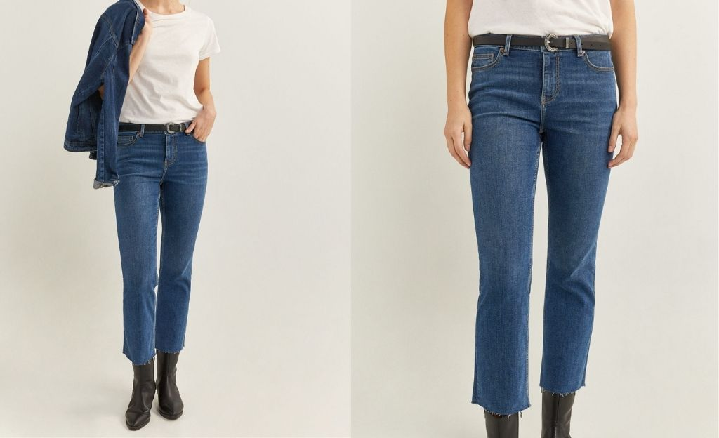 Jeans kick flared