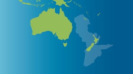 Así es Zelandia, el octavo continente: este mapa muestra cómo el 94% de su superficie se sumergió hace 23 millones de años