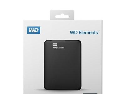 Disco duro externo 2TB WD Elements por 68 euros y envío gratis