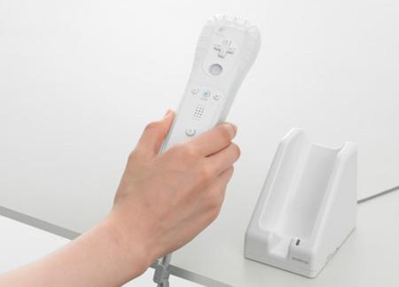 Cargador por inducción para el mando de la Wii