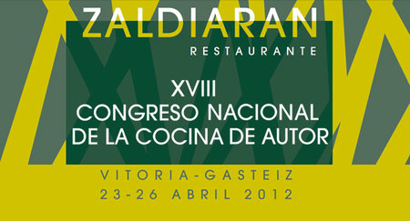 XVIII Congreso nacional de cocina de autor en Vitoria