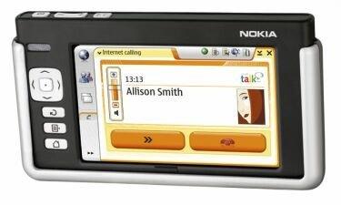 Nueva versión del SO de Nokia 770 con Google Talk