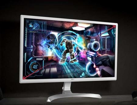 Oferta en Amazon: monitor gaming LG 4K de 27 pulgadas por 248 euros