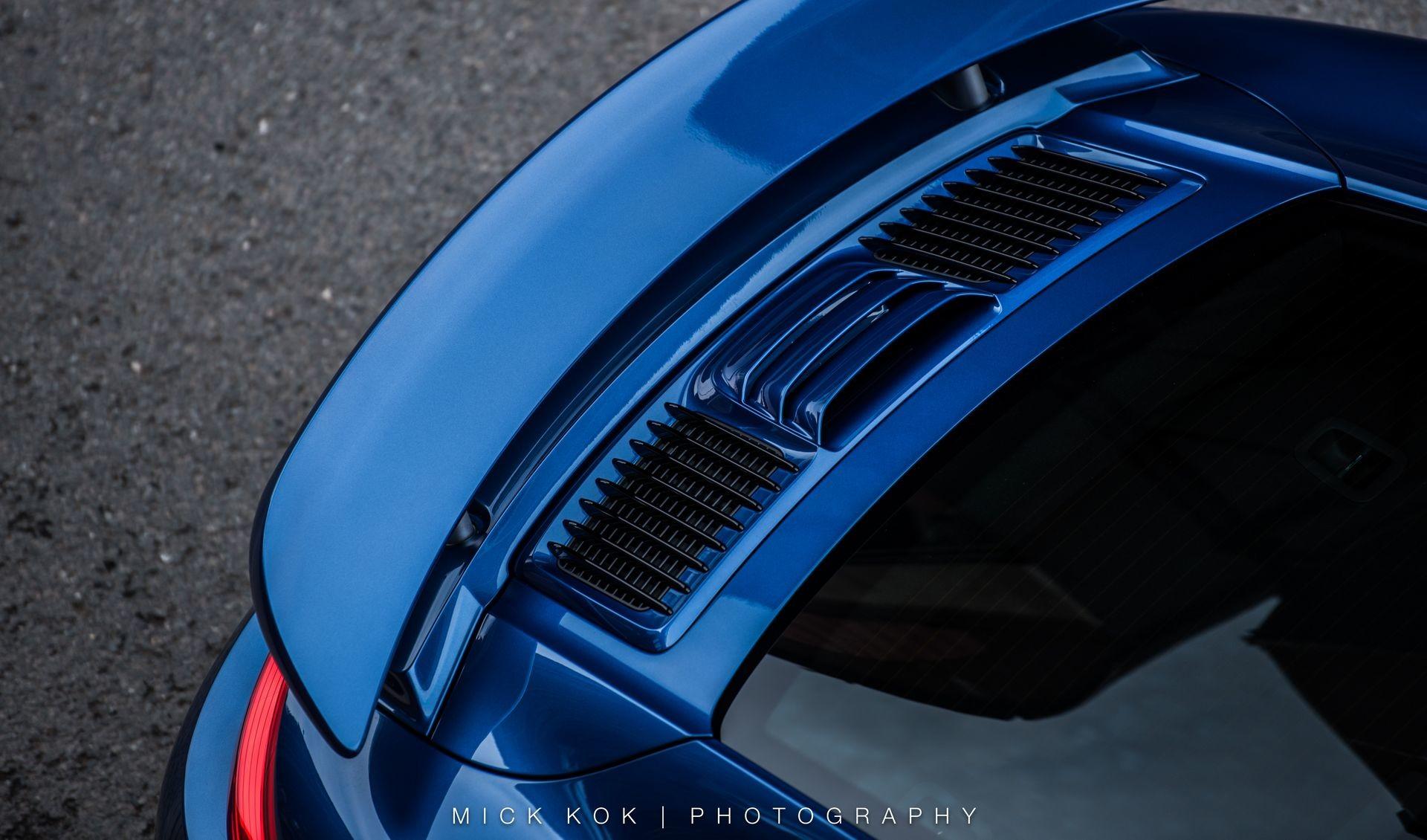 Foto de Porsche 911 Turbo S Blue Arrow (14/25)