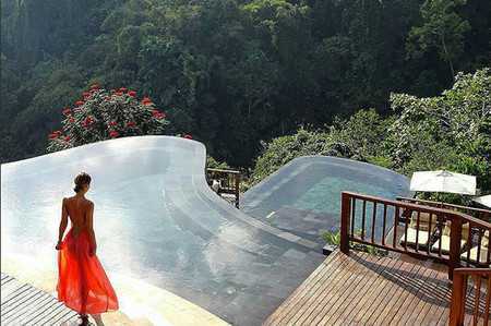 Hanging Gardens Of Bali Ubud Villas Swimming Pool In The World Las Mejores Piscinas Infinitas Del Mundo