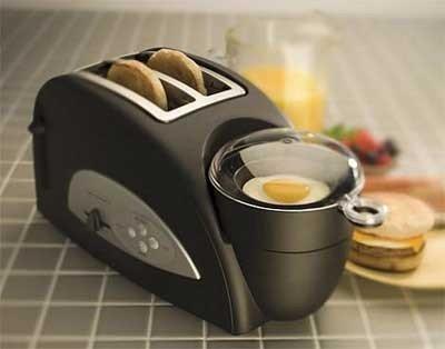 La tostadora te hace el desayuno