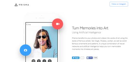 ¿Quieres añadir filtros a tus vídeos? Pues Prisma ya te permite hacerlo