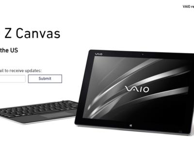VAIO volvería a Estados Unidos con un equipo similar a la Surface Pro 3