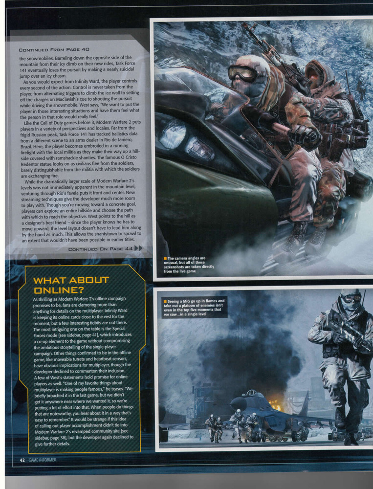 Foto de 'Modern Warfare 2' Scans Game Informer (7/10)