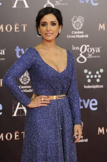 Inma Cuesta radiante de Iván Campaña en los Premios Goya 2014