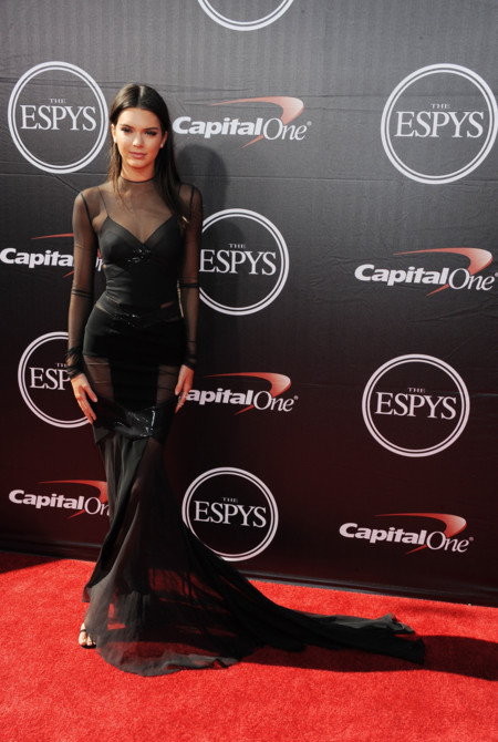 Kendall Kylie Jenner Espy Premios 2015 2
