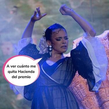 Macarena Ramírez se proclama ganadora de 'The Dancer' (y Lola Índigo, Rafa Méndez y Miguel Ángel Muñoz marcan la final a golpe de caderita)