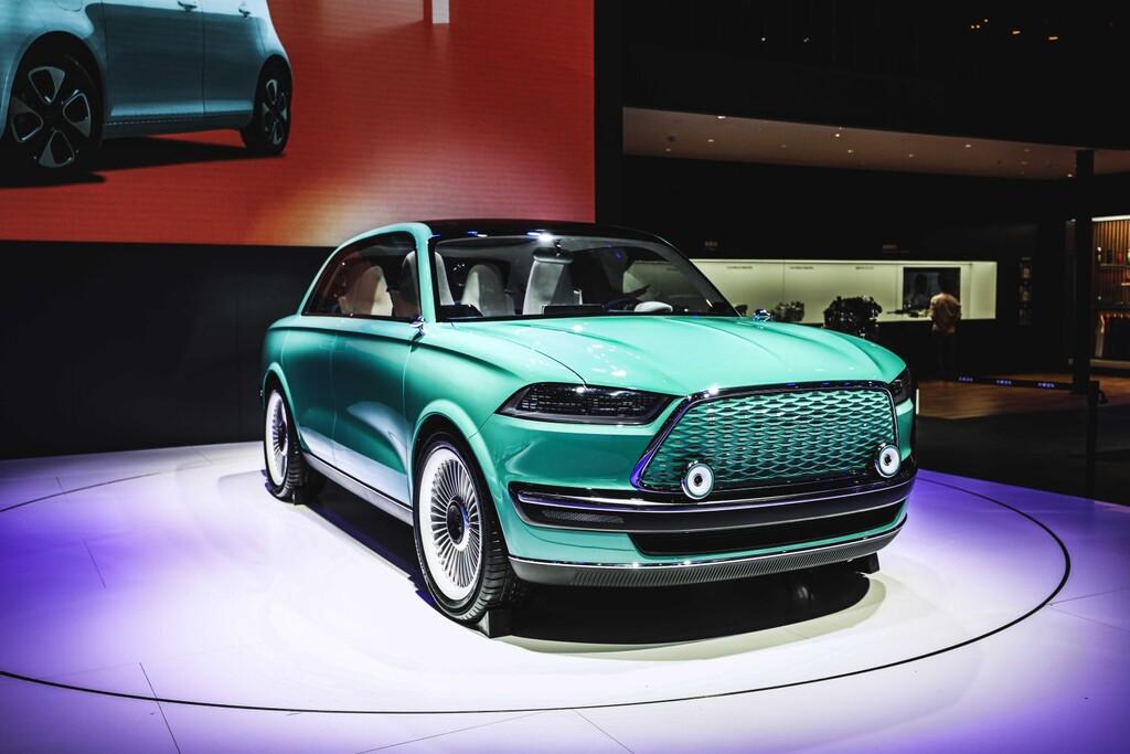 El ORA Futurist es el último coche eléctrico de Great Wall: un prototipo de aspecto retro y 700 km de autonomía