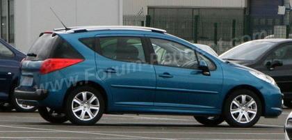Fotos espía del Peugeot 207 SW