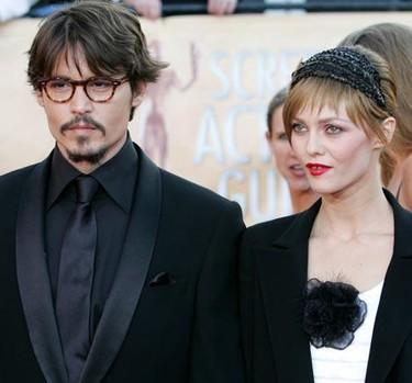 Vanessa Paradis no quiere que Johnny Depp trabaje con Angelina Jolie