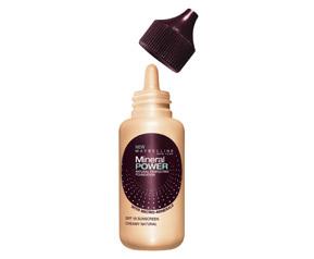 Lo que viene: maquillaje mineral líquido, de Maybelline