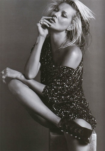 Foto de Kate Moss para Vogue París (6/10)