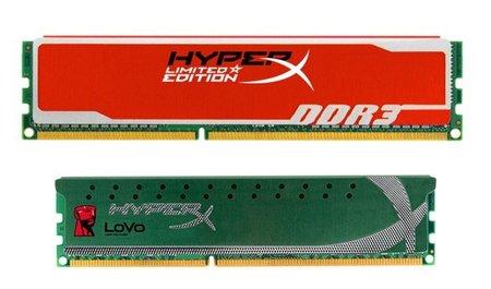 Kingston HyperX roja edición limitada y HyperX Lovo renovada